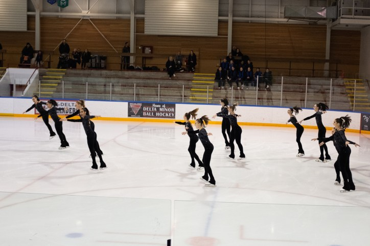 synchronized skaters