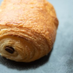 pan du chocolat (a chocolate croissant)