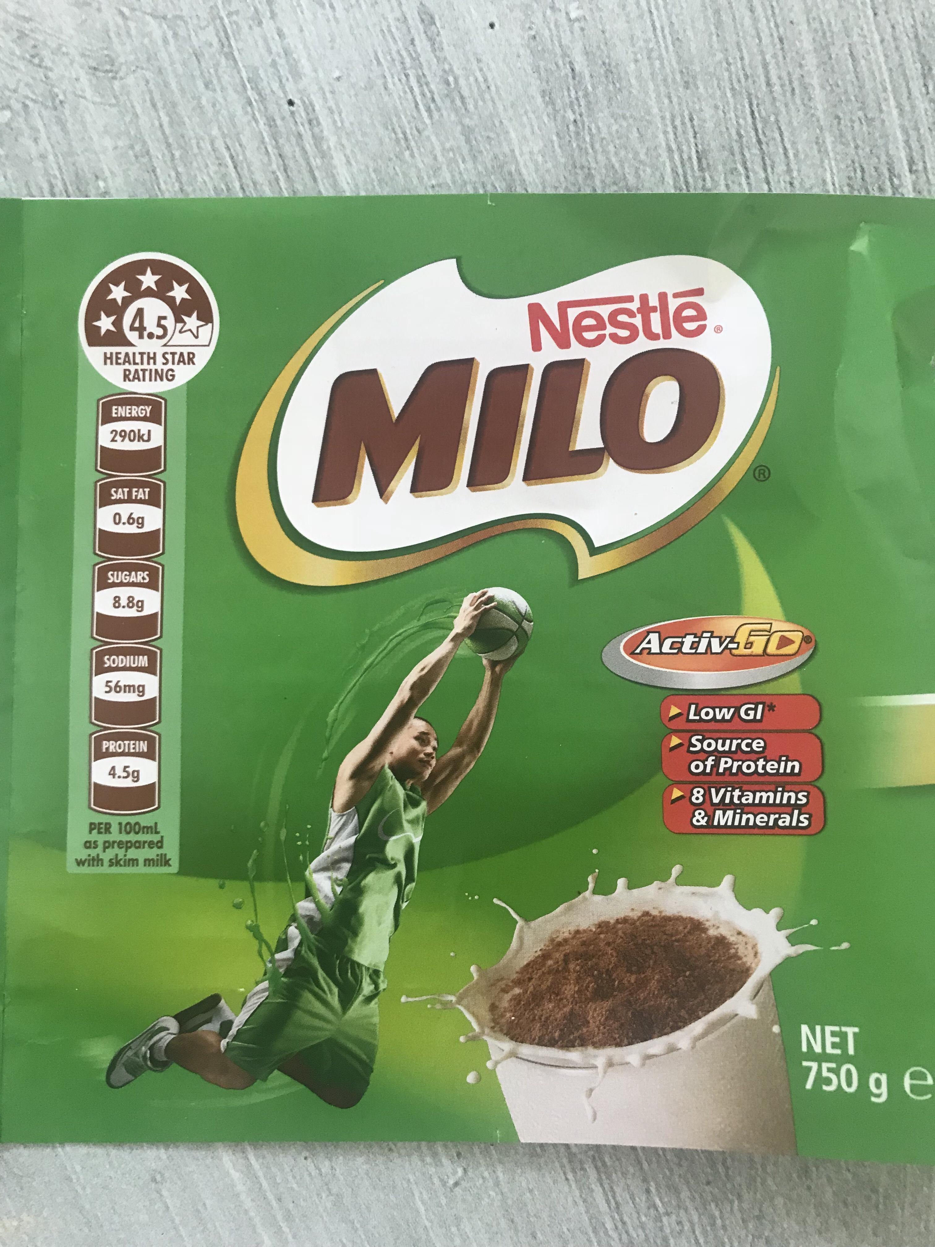 Is Milo healthy?