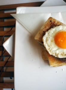 croque madam, lifeglutton, gastronome seasonal