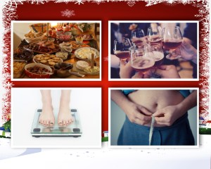 The festive party season can turn into the January weight blues