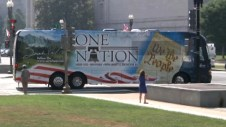 One Nation Bus Parked