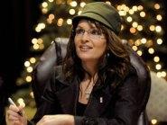 Sarah wearing green cap at Fairfax VA book sigining