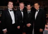Todd poses with Glenn Beck and others at Time 100 gala 2010
