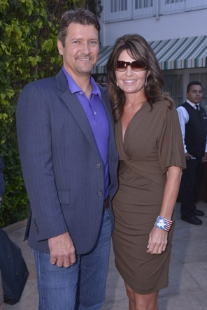 Todd and Sarah at NBC Party - 07-25-12
