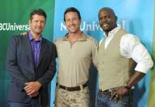 Todd Palin, Brent Gleeson, Terry Crews