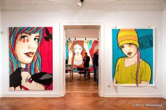 El Bocho @ Raab Galerie, Foto/Copyright: Rolf G. Wackenberg