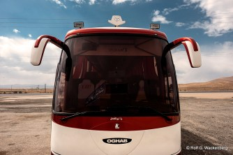Iran - Bus, Foto: Rolf G. Wackenberg