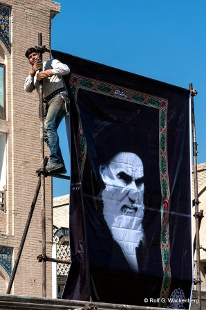 Iran, Propaganda, Foto: Rolf G. Wackenberg