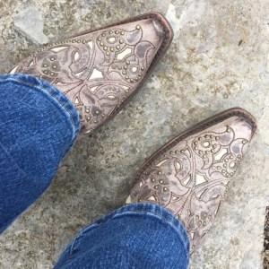 Sarah's boots