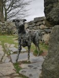 The resting place of Gelert the dog