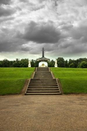 Peace Pagoda in Milton Keynes, England