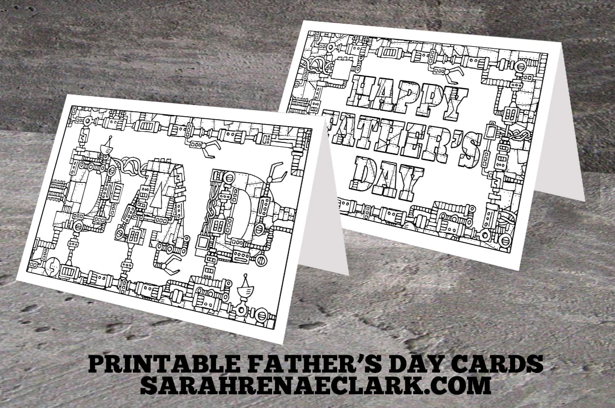 Free Father S Day Coloring Page And T Pack