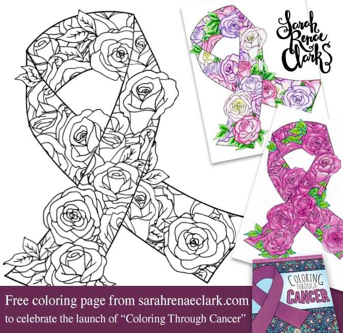 This Awareness Ribbon Coloring Page Is Free Download And Print Then Color For Your Cause