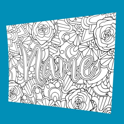 custom coloring pages # 8