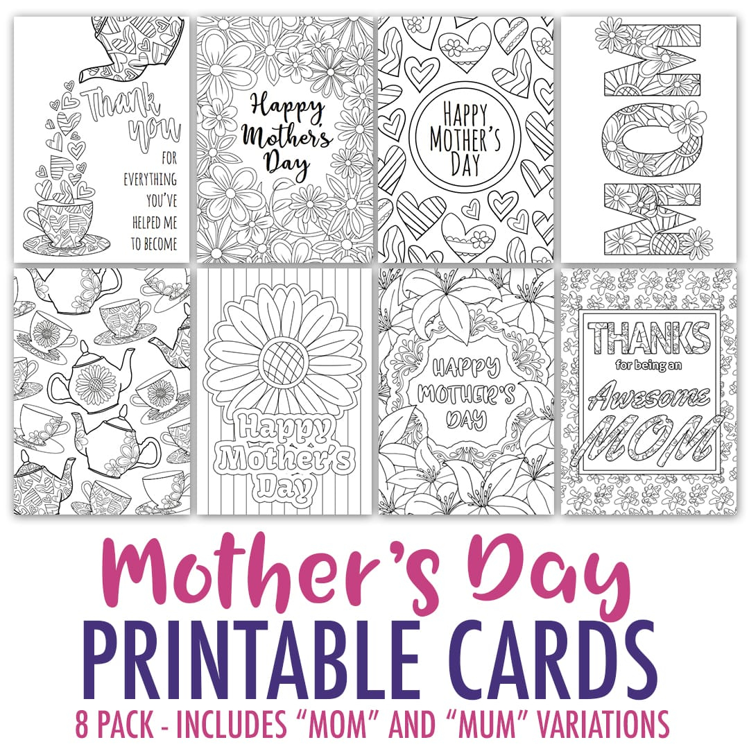 Free Mother S Day Card Printable Template