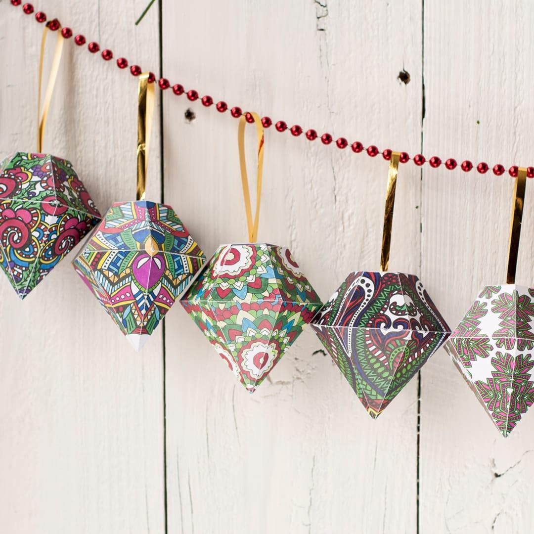 DIY Christmas Ornaments | 10 Pack - Sarah Renae Clark ...