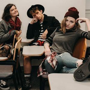 three high school characters