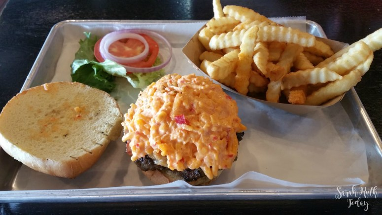 360 Burger Pimento and Pig