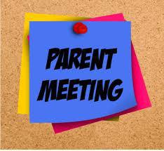 Parent Meeting postit