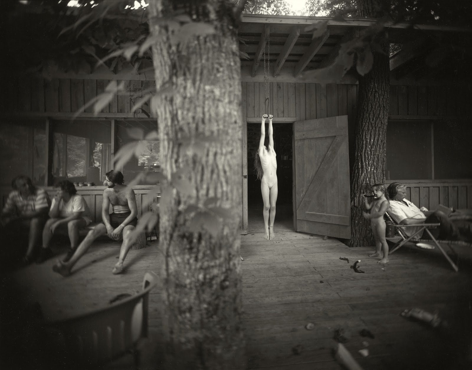 The Gallery For > Sally Mann What Remains Body Farm