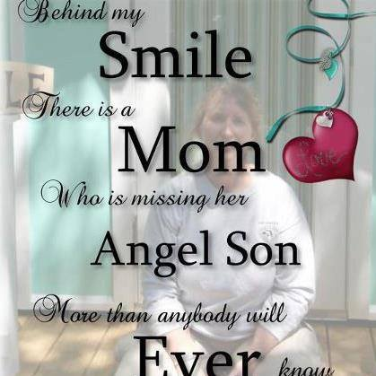 The Story Behind My Angel Mom Picture