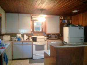 Kitchen overall. Well I left out the corner where DANNY'S STUFF is.