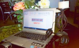 Why Do We Write? Found on a Google Search
