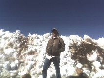 Danny on Top Of Pikes Peak