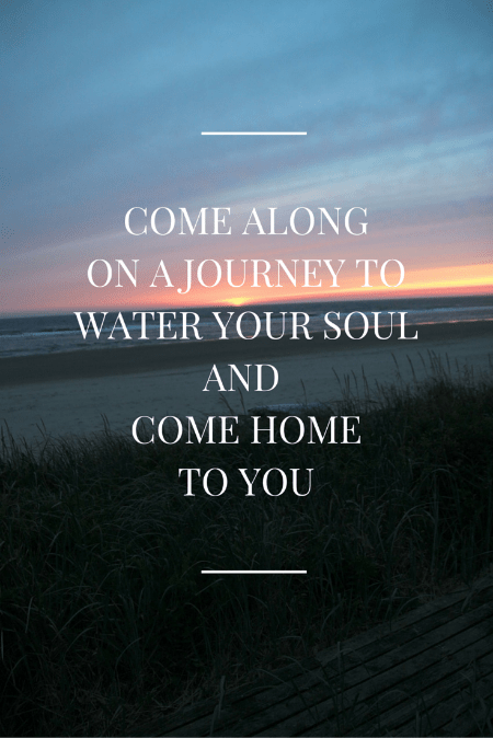water your soul