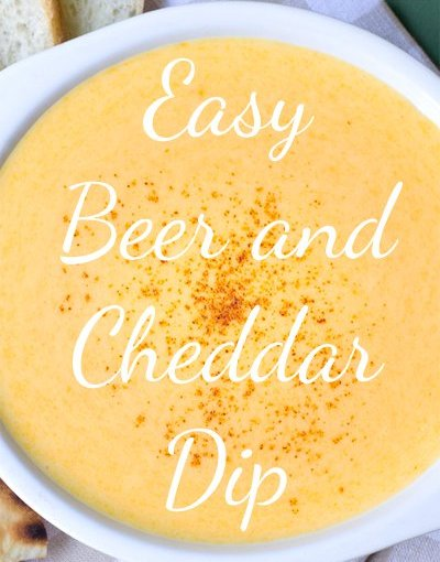 Easy Beer Cheese Dip / NASCAR Tonight- Rescheduled For Sunday At Noon.