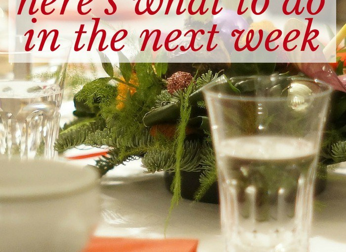 Hosting Thanksgiving? Here's What to Do in the Next Week • No Place Like Home
