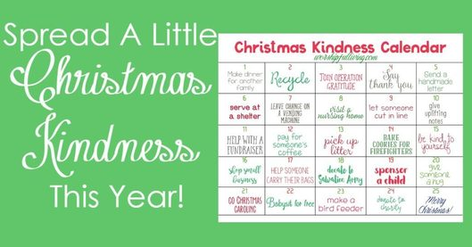 Spread A Little Christmas Kindness This Year -Worshipful Living