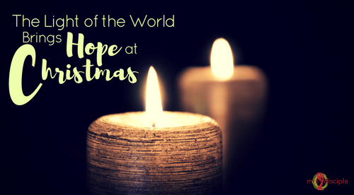 The Light of the World Brings Hope at Christmas