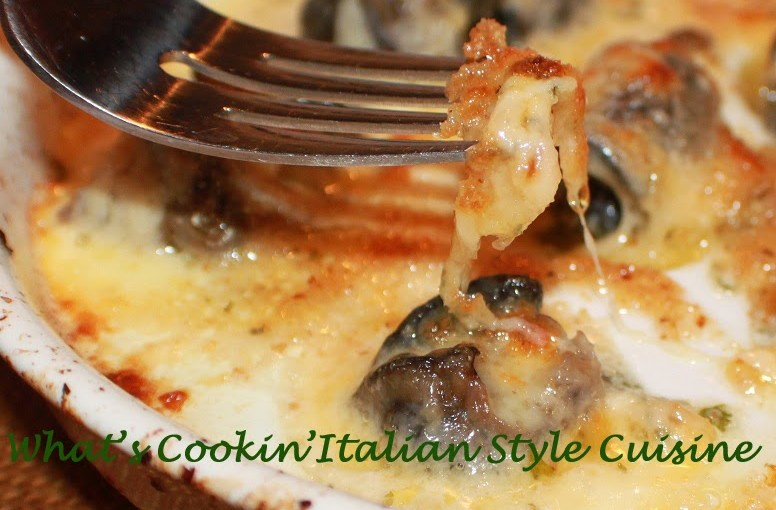 BUTTERED CRUMB ESCARGOT IN WINE By What's Cooking Italian Style Cuisine