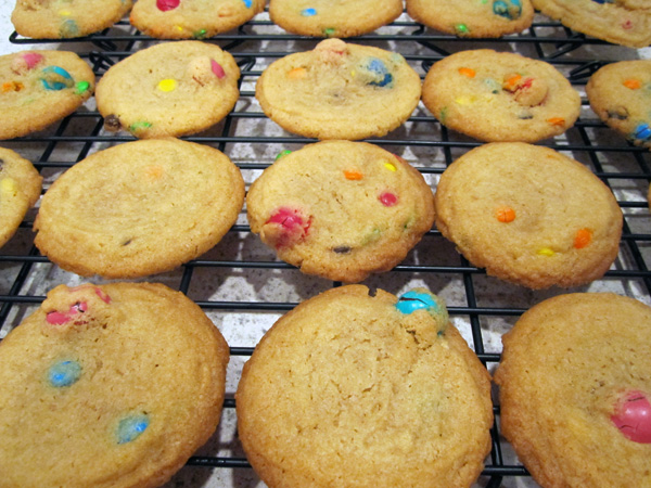 M&M Butter Cookies