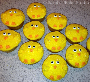 Recipe Roundup: Easter Chick Cupcakes