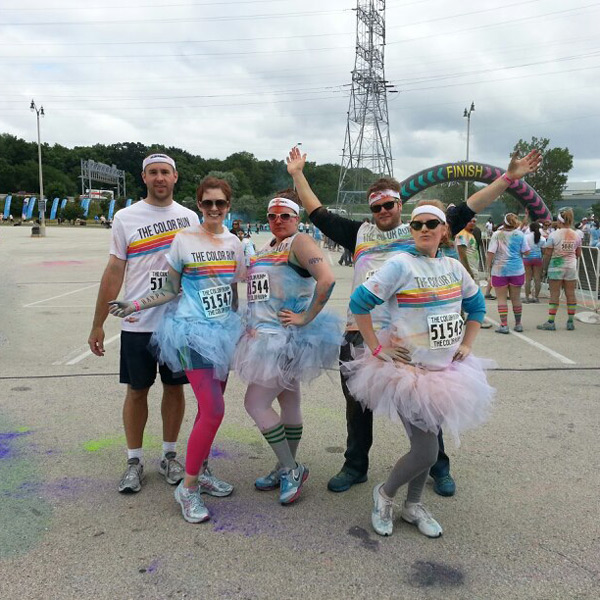 Thurday Things: Color Run.
