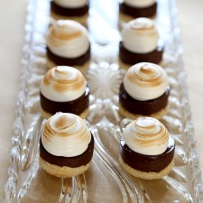 S'mores Petit Fours from Baking My Way