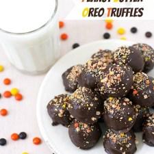 Peanut Butter Oreo Truffles