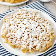 County Fair Funnel Cakes from Love Bakes Good Cakes