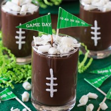 Football Pudding Cups from The First Year