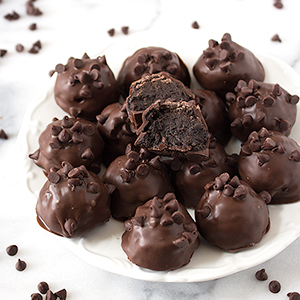 Death By Chocolate Oreo Truffles