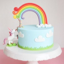 Not A Usual Unicorn Cake from Vertortelt