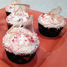 Broken Glass Cupcakes from Sarah's Bake Studio