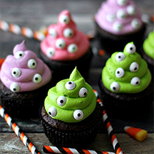 Monster Cupcakes from Life With The Crust Cut Off