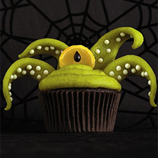 Sea Monster Cupcakes from Reader's Digest