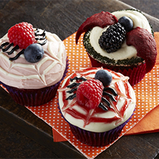 Berry Spooky Cupcakes from Driscolls