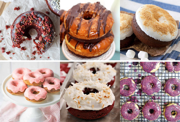 The Great Big List of Donut Recipes – satisfy your love for donuts with this massive 170+ sweet collection of doughnuts from donut obsessed bloggers from around the web; no recipe roundup has ever been so scrumptious!