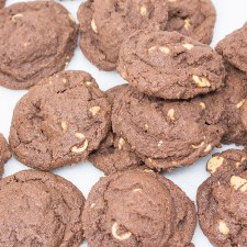 Chocolate Peanut Butter Chip Cookies #Choctoberfest